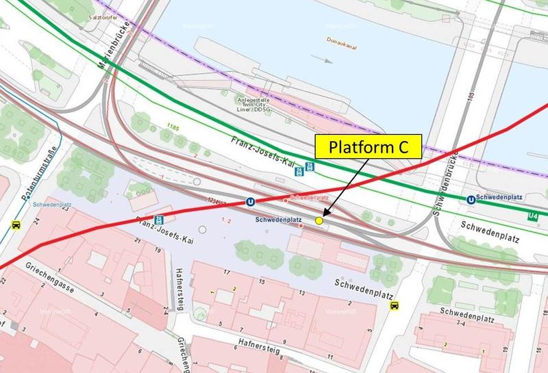 Vienna Tram Subway Map.Vienna Ring Tram Attractions Passenger Information Wiener Linien
