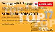 Das Top-Jugendticket 2014/15