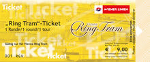 Ticket Vienna Ring Tram