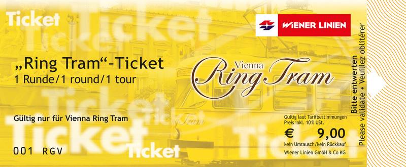 Round The Ring Tram Vienna