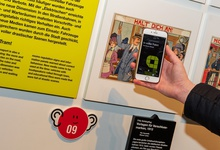Hearonymus Audioguide at Transport Museum Remise