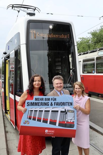 Neue Bim Linie 11 Nimmt Ab 2 September Ihre Fahrt Auf