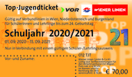 Das Top-Jugendticket 2019/20